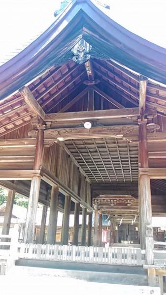 猿投神社の神楽殿