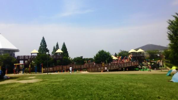 戸田川緑地広場