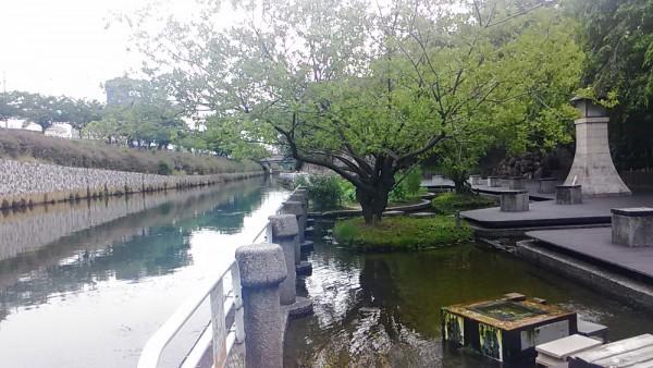 水場や遊歩道