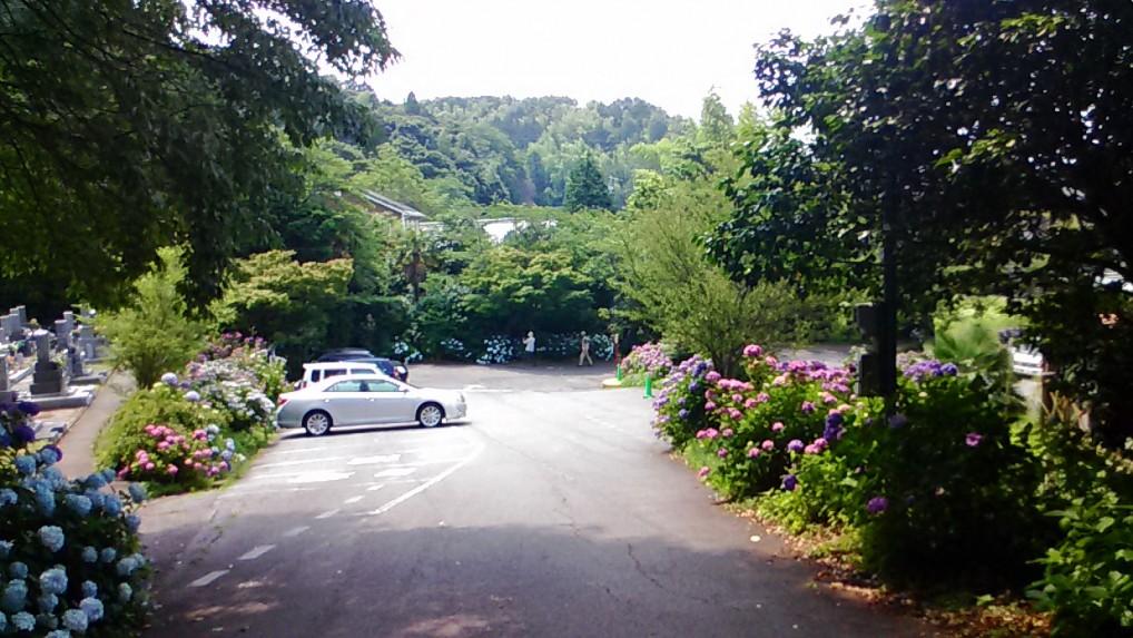 本光寺駐車場
