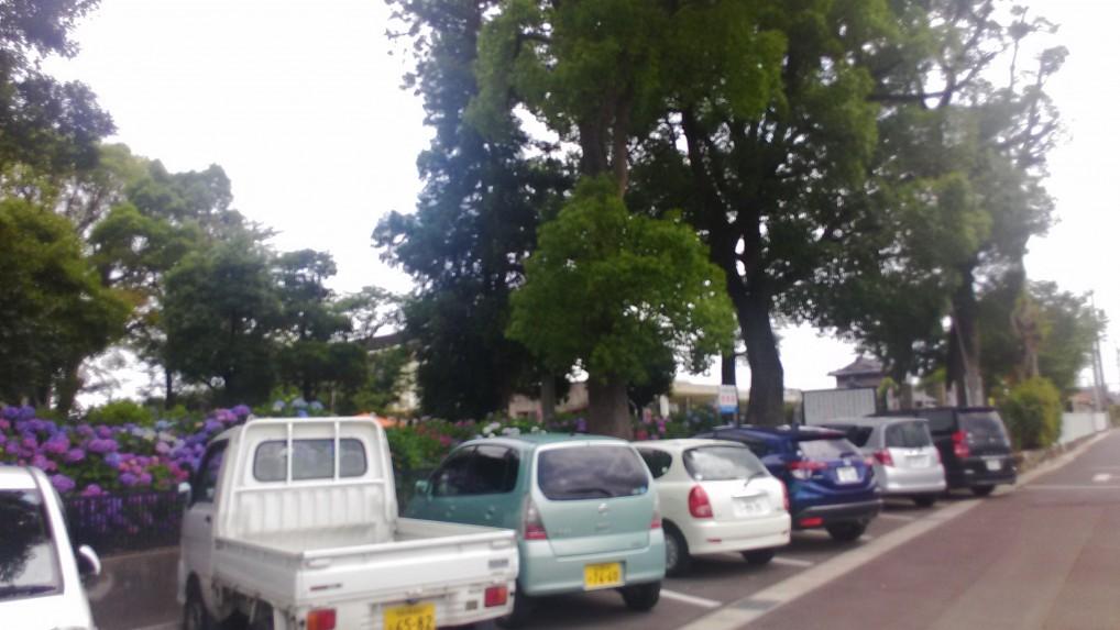 音楽寺駐車場