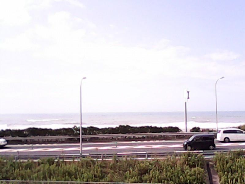 道の駅潮見坂から見る遠州灘