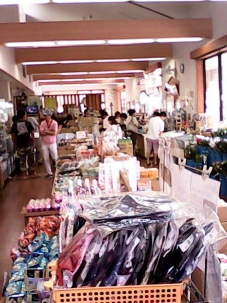 道の駅「筆柿の里幸田」の種施設内