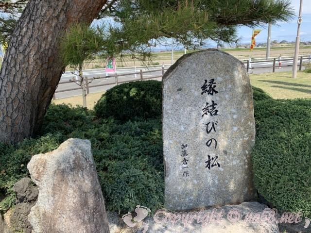 道の駅立田ふれあいの里(愛知県愛西市)縁結びの松