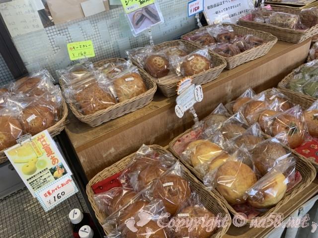 道の駅立田ふれあいの里(愛知県愛西市)のパン屋さん