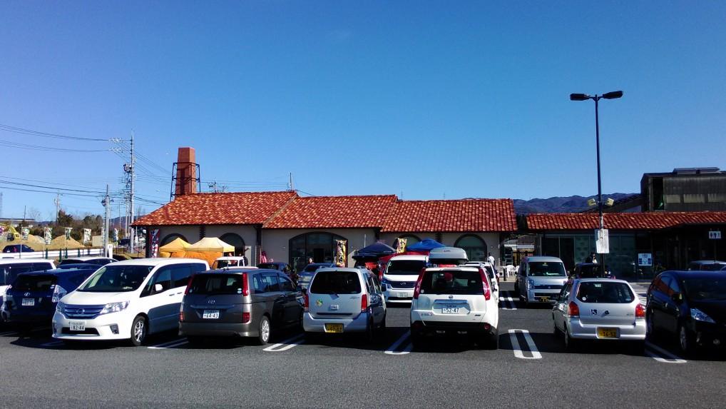 道の駅瀬戸しなの正面駐車場