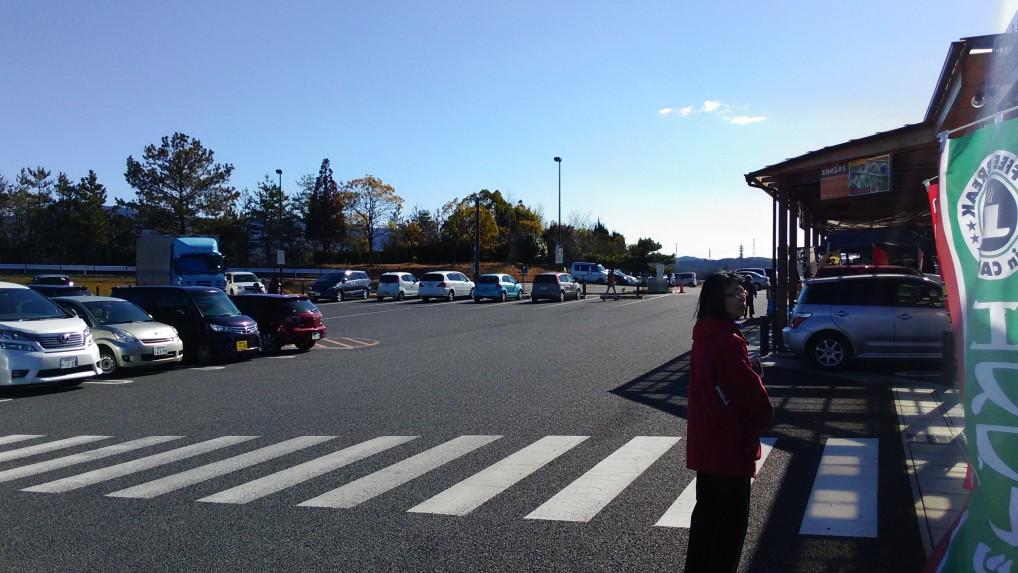道の駅瀬戸しなの駐車場