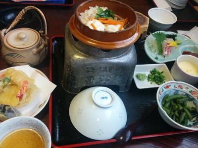 愛知県春日井市の和食どころ「黒潮」の鯛めし御膳