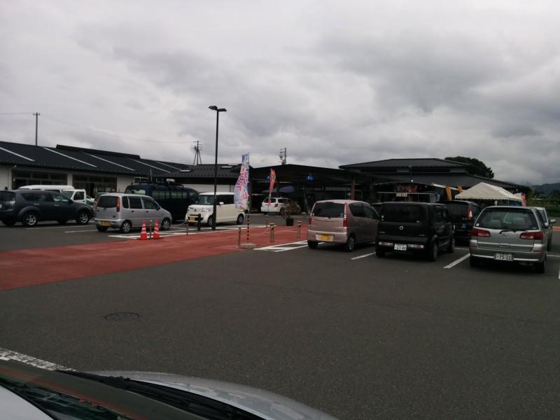 道の駅今井恵みの里駐車場