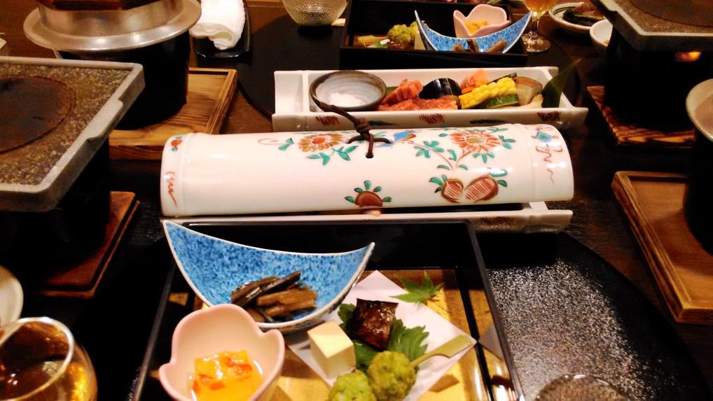 美ヶ原温泉ホテルニューことぶき夕食