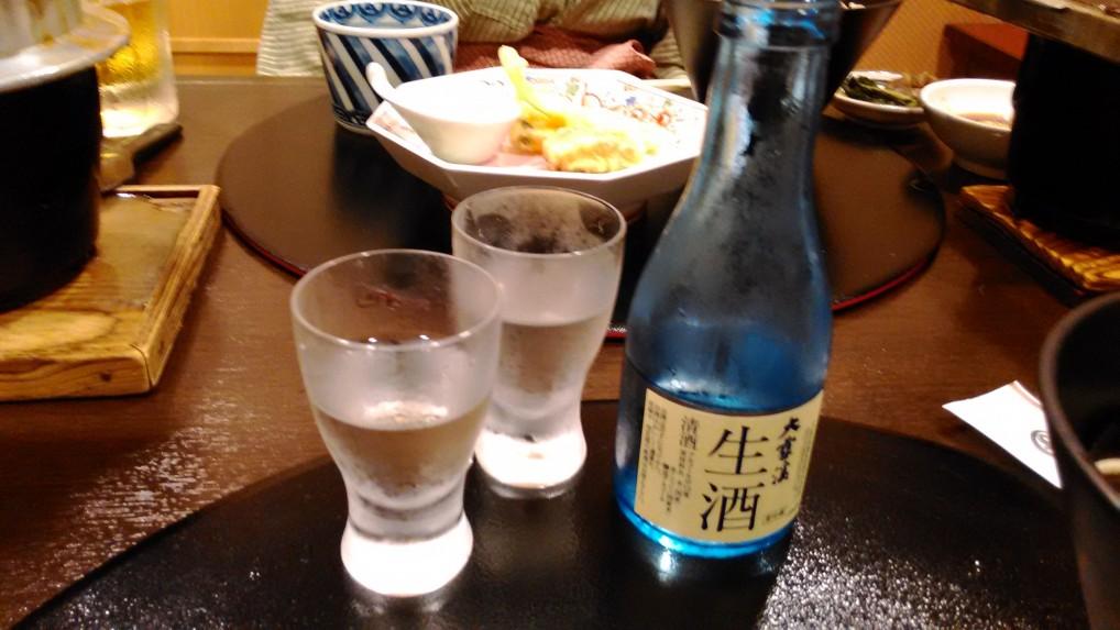 美ヶ原温泉ホテルニューことぶき夕食清酒