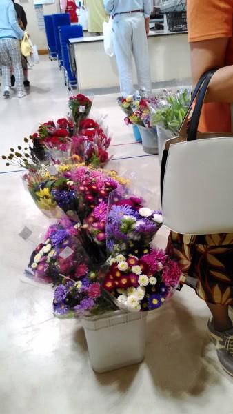 道の駅北アルプス安曇野ほりがねの里物産センターの花