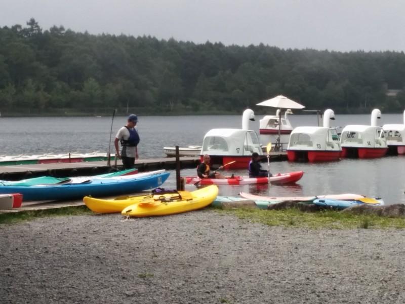 女神湖ボートやカヌーなど