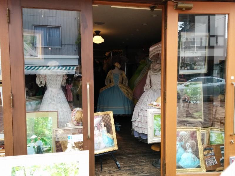 旧軽井沢銀座の老舗写真館