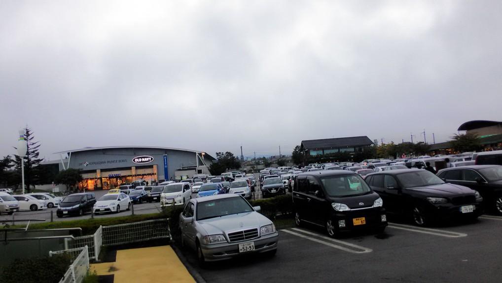 軽井沢プリンスショッピングプラザ駐車場
