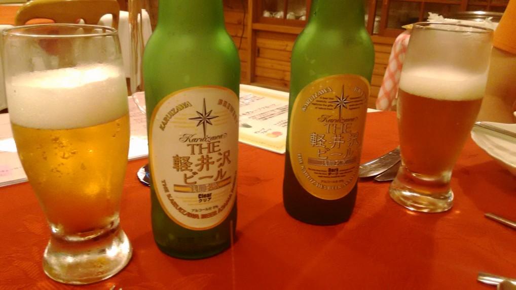 ビール軽井沢ビンに種類