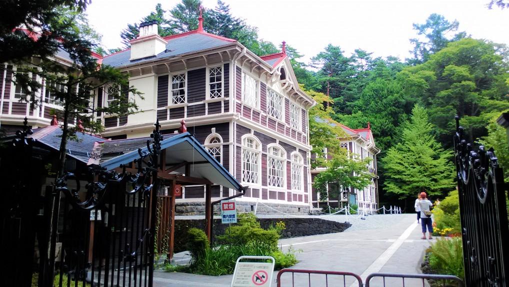 旧三笠ホテル外観