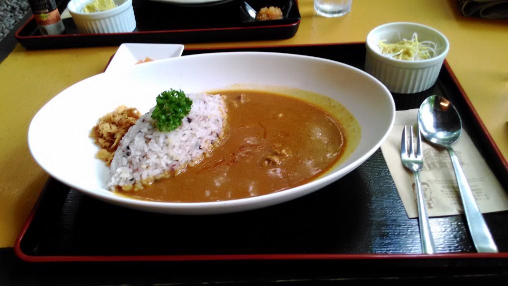 軽井沢三笠茶屋ビーフカレー