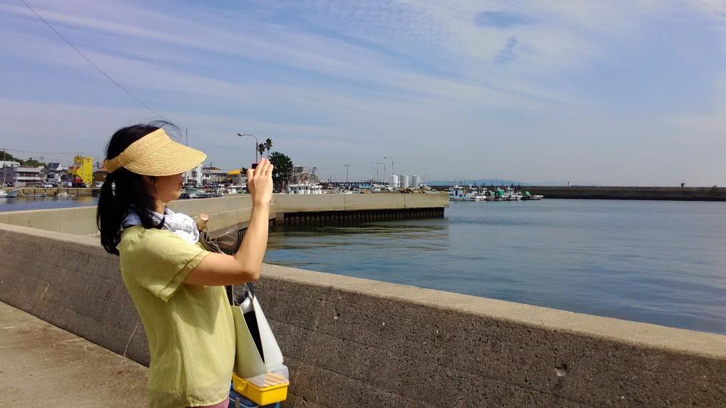 師崎港の様子