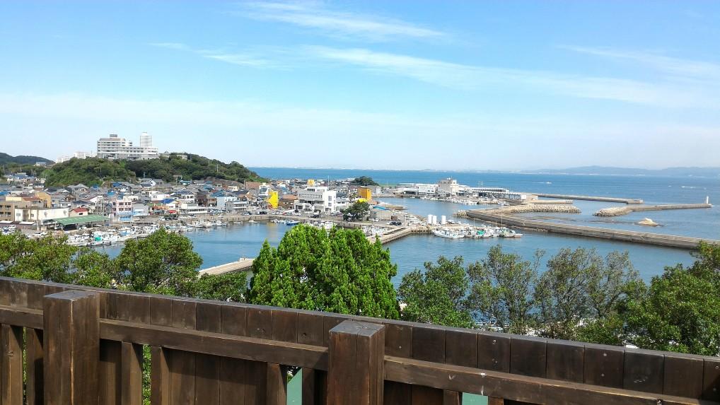 羽豆岬展望台からの絶景!