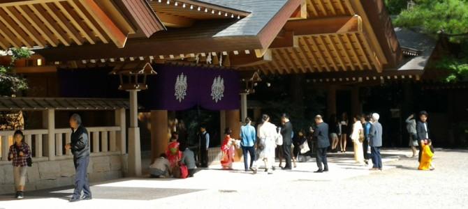 熱田神宮で七五三と初宮参り・子供両親・祖父母何着てる?