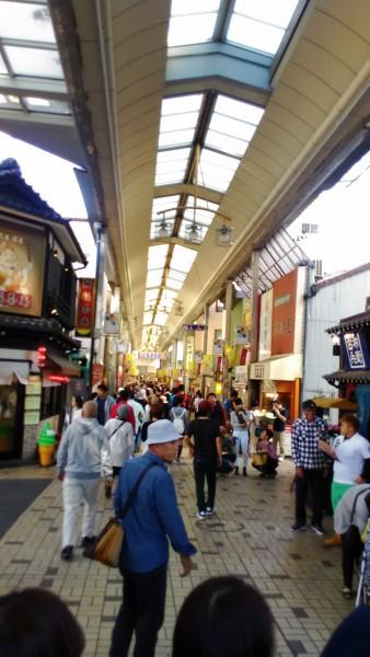 大須商店街の「観音通り」