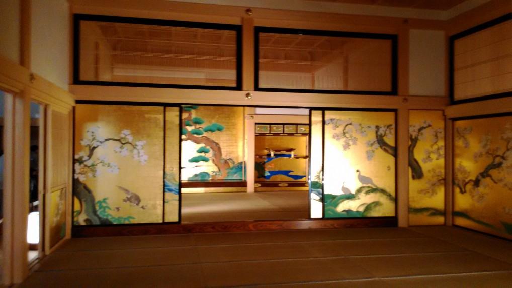 名古屋城本丸御殿の表書院障壁画