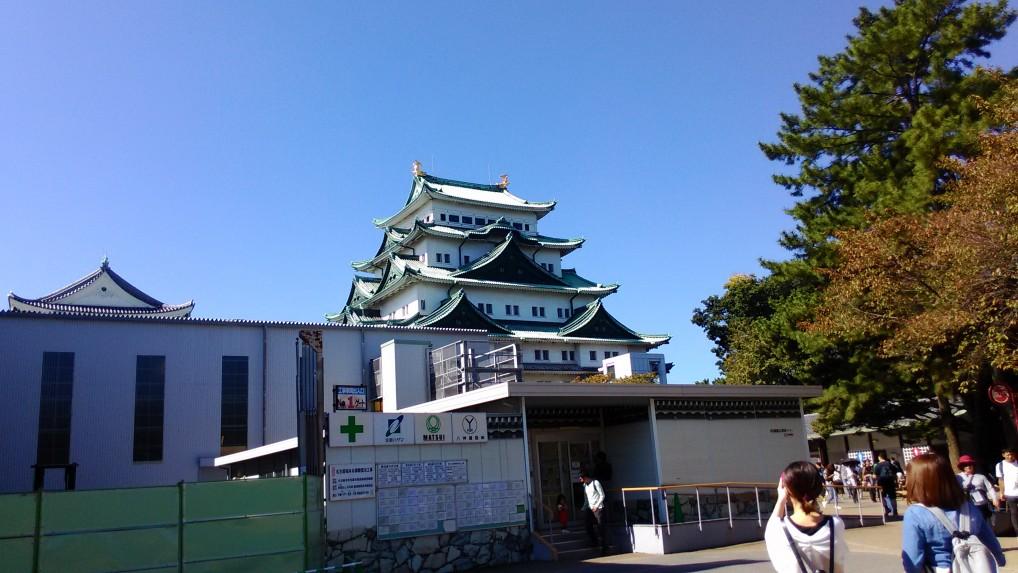 名古屋城本丸御殿復元中