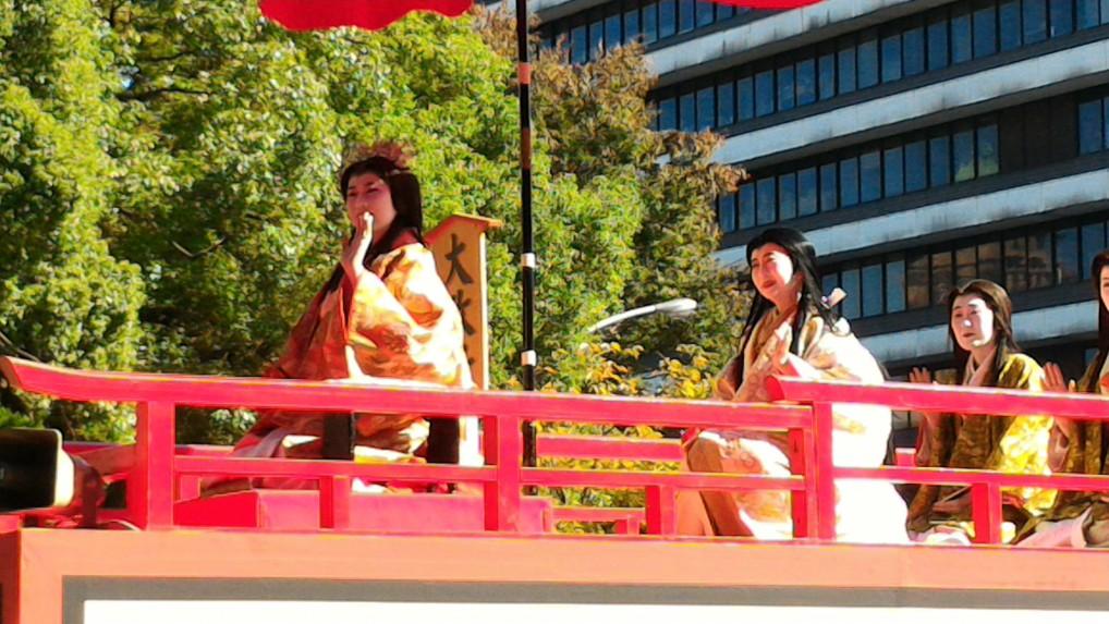 名古屋まつり英傑行列の姫たち