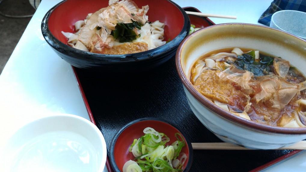 名古屋城食事処「きしめん」さんのスタンダードなきしめん