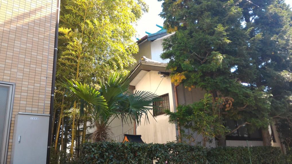 尾張猿田彦神社の社務殿