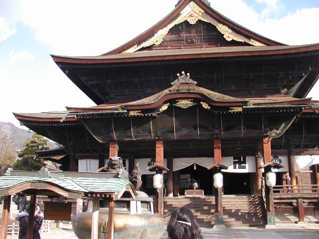 善光寺(長野県長野市)の本堂
