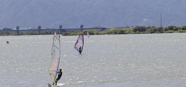 祖父江砂丘で遊べる水上スポーツ・広大な自然の中でバーベキューも