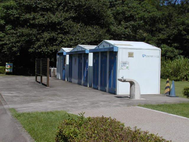 祖父江砂丘(木曽三川公園)のトイレ