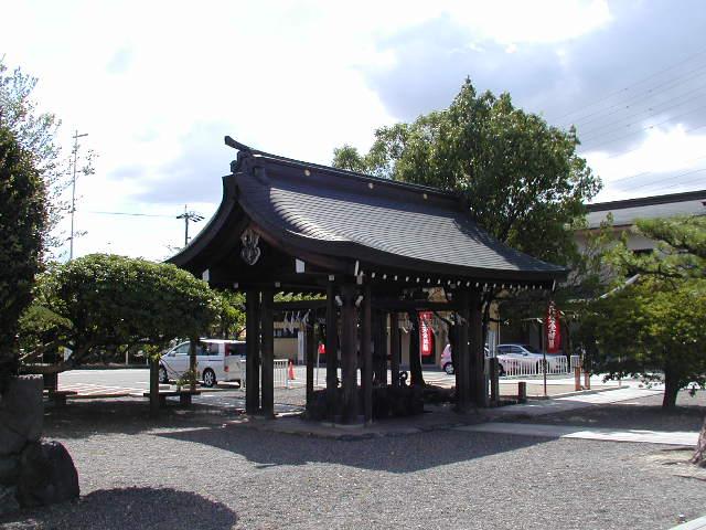 田県神社(愛知県小牧市)の手水舎(ちょうずや)