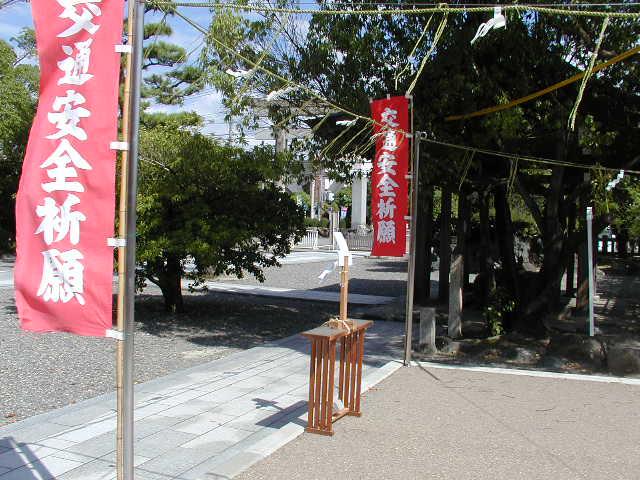 田県神社(愛知県小牧市)の車祓い