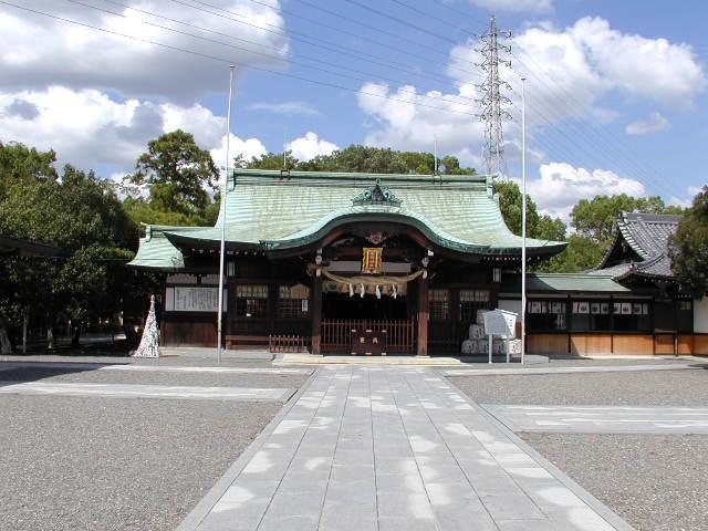 田県神社(愛知県小牧市)の本堂