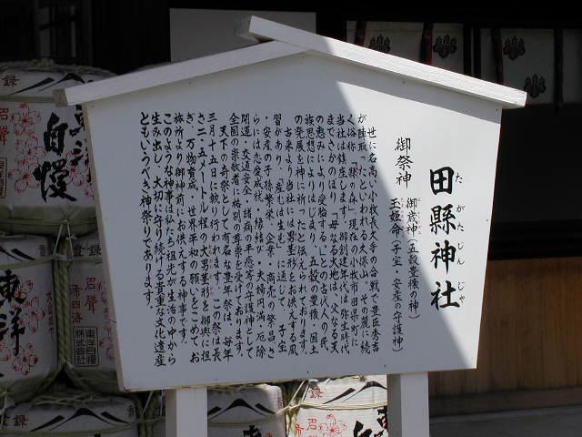 田県神社(愛知県小牧市)の由来