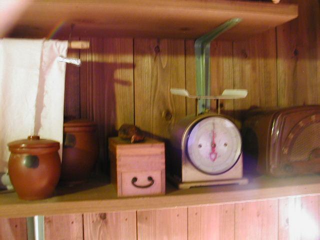 インスタントラーメン発明記念館の安藤百福さんが実験発明をした小屋の中