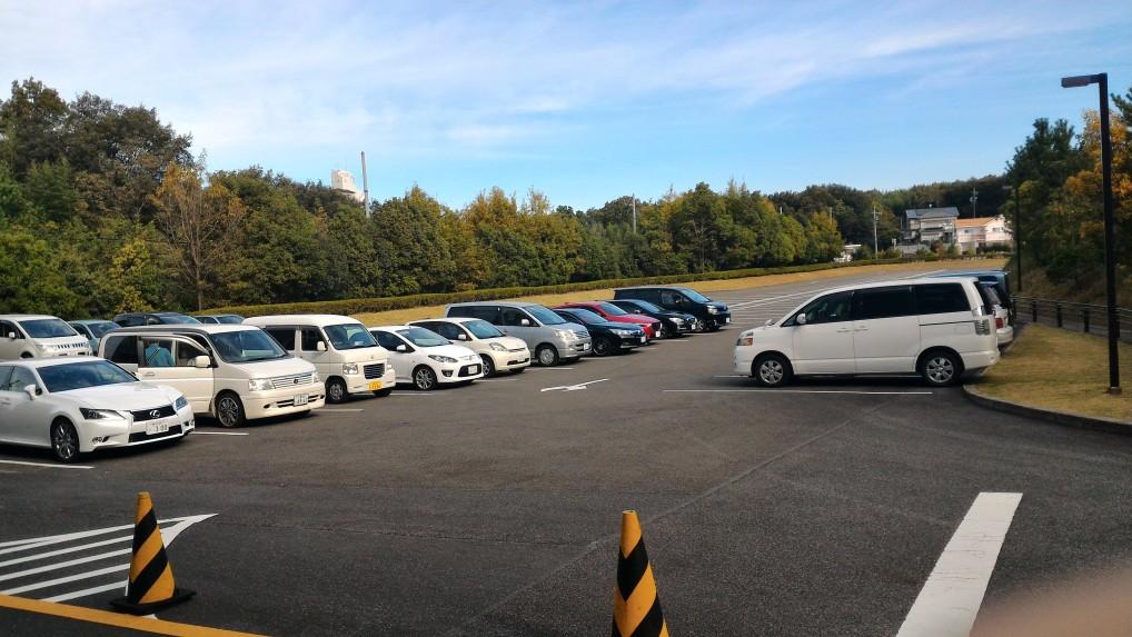 「トヨタ博物館」第二駐車場
