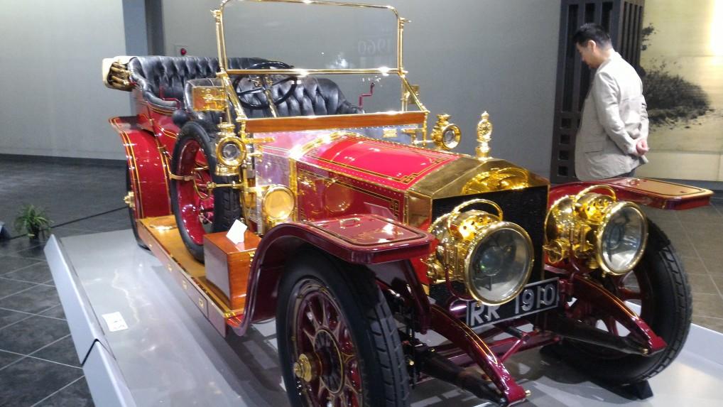 トヨタ博物の古い館欧米車