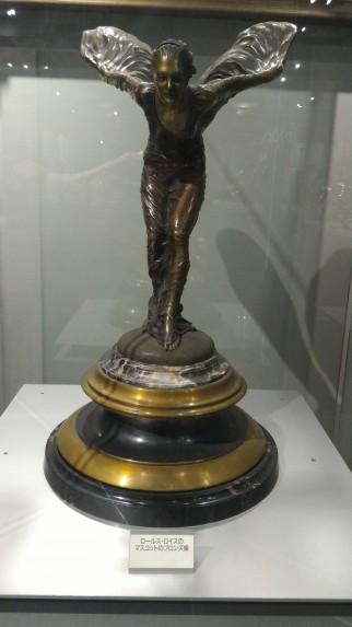 ロールスロイスのマスコットのブロンズ像