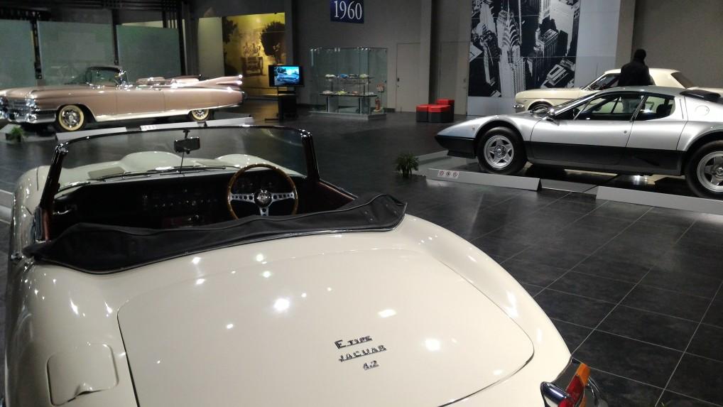 トヨタ博物館二階の欧米車1960年ごろの欧米車