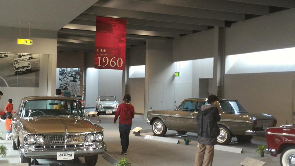 トヨタ博物館・1960年ごろの日本車のいろいろ