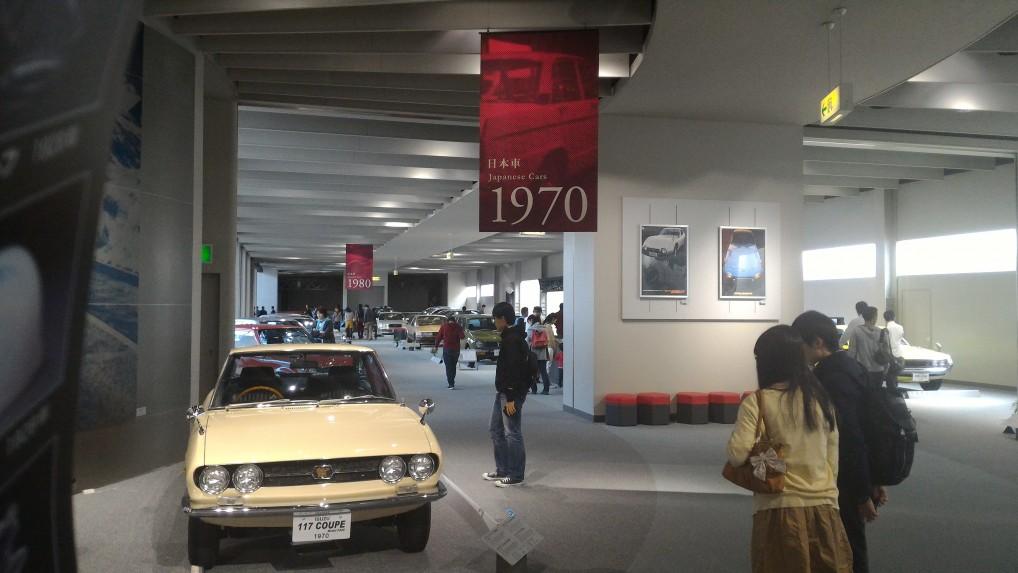 トヨタ博物館・1970年ごろの日本車のいろいろ