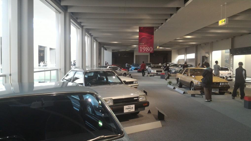 トヨタ博物館・1980年ごろの日本車のいろいろ