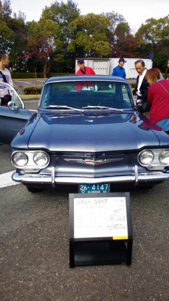アメリカ製1960年シボレーコルベア