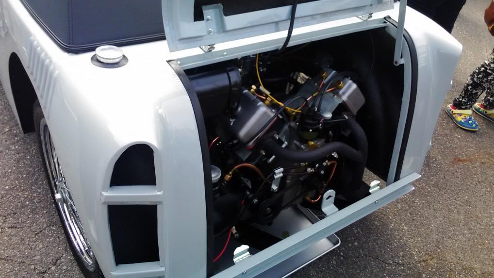 フライングフェザー日本製1955年リアエンジン
