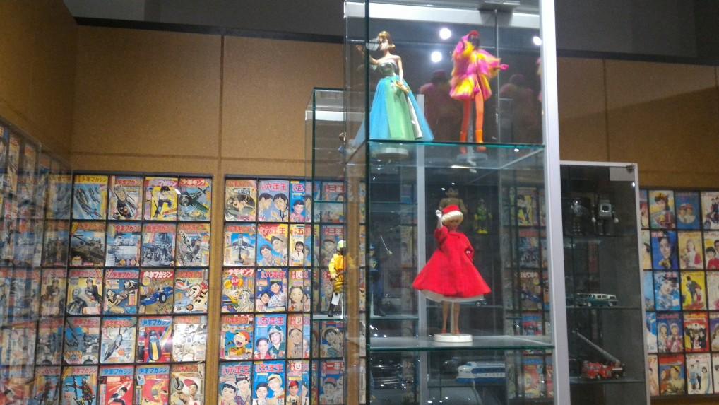トヨタ博物館新館の生活文化用品の展示