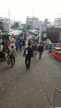 覚王山日泰寺参道に並ぶお店や屋台
